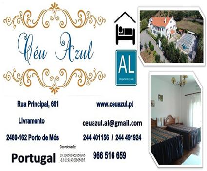 """Alojamento Local """" Céu Azul"""