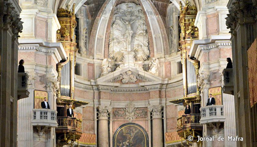 6 órgãos - Basílica